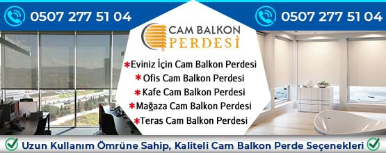 Eskişehir Cam Balkon Perdesi